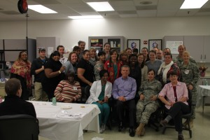 7th Annual Christmas Party At Walter Reed In Washington DC