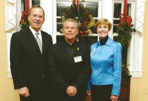 Vito A. Pampalona attended the 2010 Holiday Reception at the Chairman of the Joint Chiefs Of Staff and Mrs. Michael G. Mullen's Residence in Washington D.C.